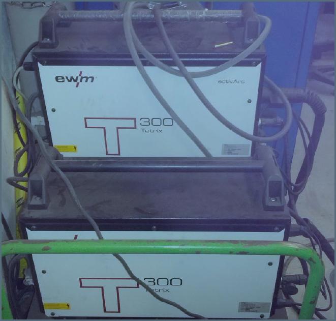 Zařízení pro svařování EWM Tetrix 300 TIG