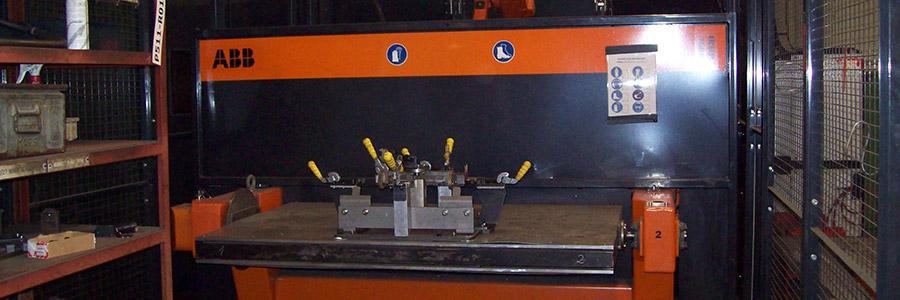 Sváření Fe robot ABB
